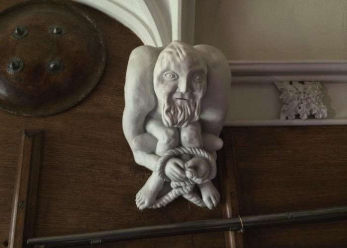 Een detail van het interieur van Abbotsford