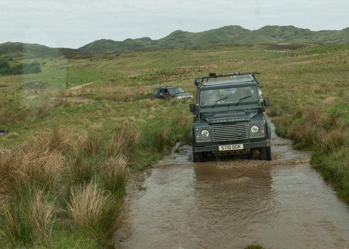 Een landrovertocht met Highland Safaris.